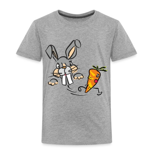 Hasenjagd ~ Rabbit Hunt - Kinder Premium T-Shirt