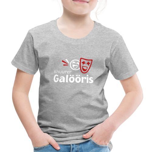 Khuurer Galööris weiss - Kinder Premium T-Shirt