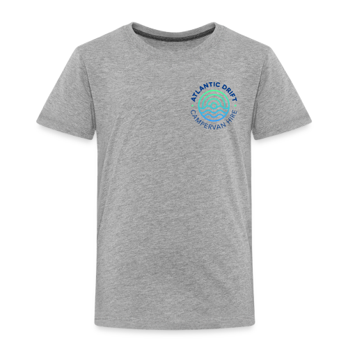 Atlantic Drift Logo (Blue) - Kids' Premium T-Shirt
