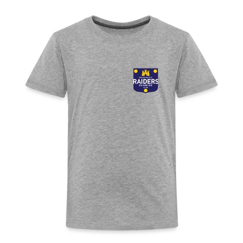 raiders logo final small - Kids' Premium T-Shirt