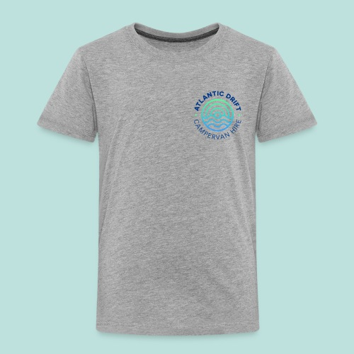 Atlantic Drift Logo (Blue) - Kids' Premium T-Shirt
