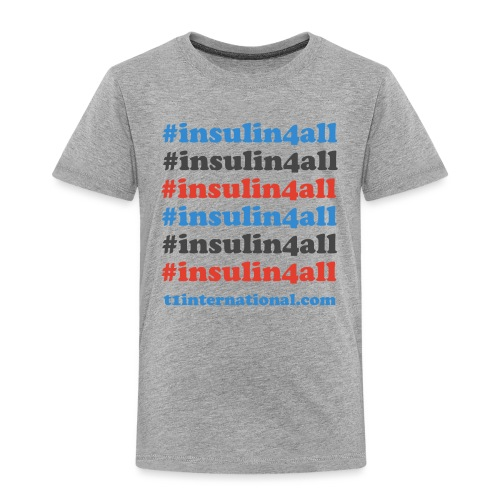 #insulin4all - Kids' Premium T-Shirt