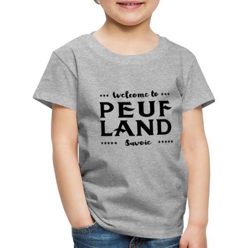 Peuf Land 73 - Savoie - Black - T-shirt Premium Enfant