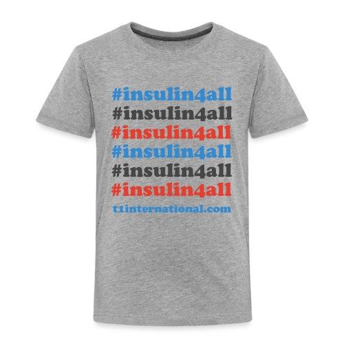#insulin4all - Kids' Premium T-Shirt