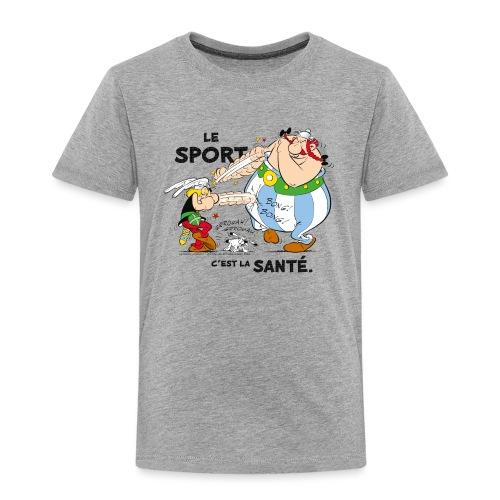 Astérix et Obélix - Le sport c'est la santé - T-shirt Premium Enfant