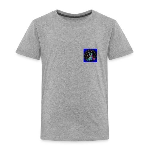 Psykohol mit HIntergrund - Kinder Premium T-Shirt