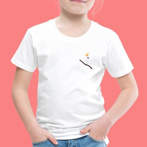WHITE CACATUA - Maglietta Premium per bambini