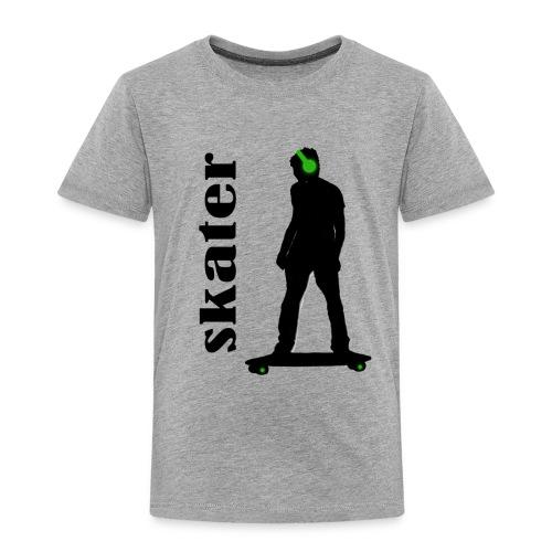 skater green copia - Camiseta premium niño