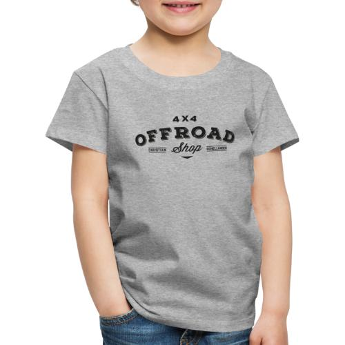 4x4 Offroad Shop Logo V3 - Kinder Premium T-Shirt