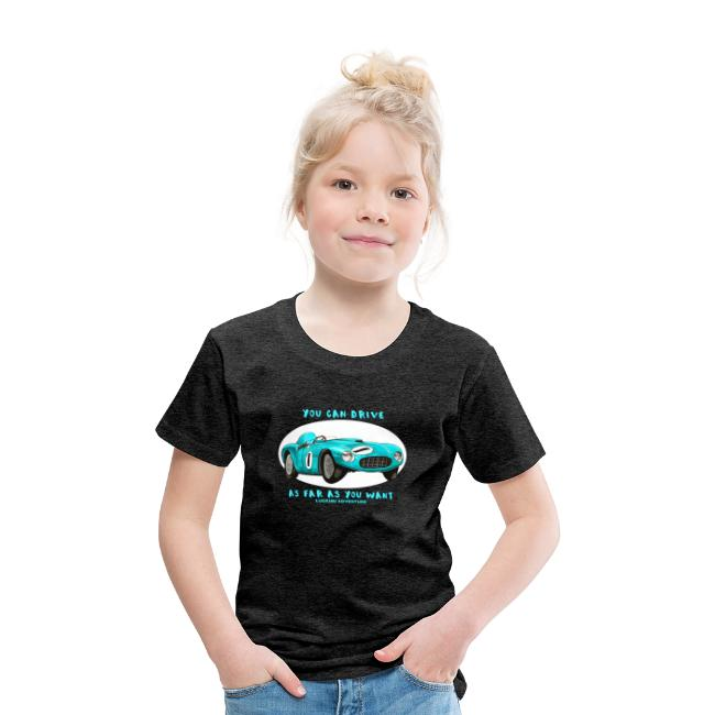 Happy Car Turquoise - Kids