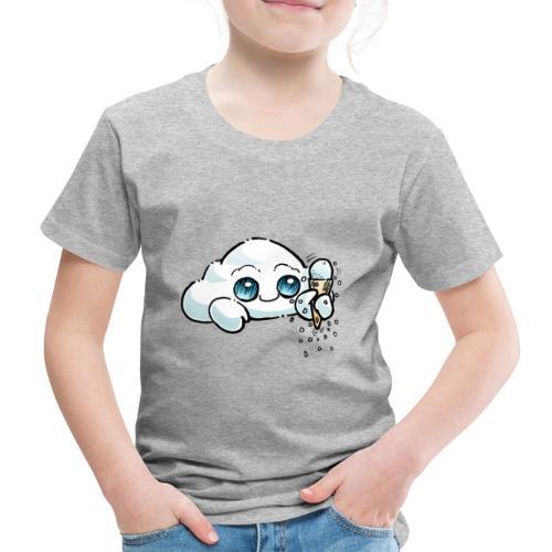 Oliver Cast The Cloud - Snowy - Kids' Premium T-Shirt