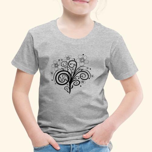 Blumenranke, Blumen, Blüten, floral, Ornamente - Kinder Premium T-Shirt