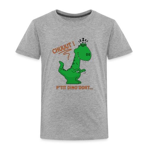 P tit Dino Dort Vert - T-shirt Premium Enfant