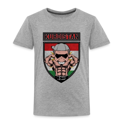 Kurdistan azadi Kurdish people. Kurdish Muscle - Kinder Premium T-Shirt