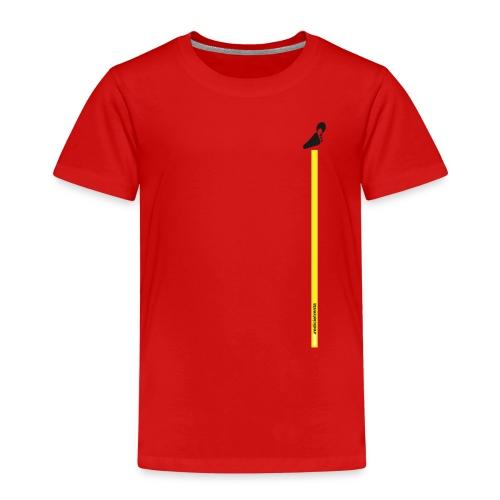 Spreadshirt grafica young inserto basso fondo nero - Maglietta Premium per bambini