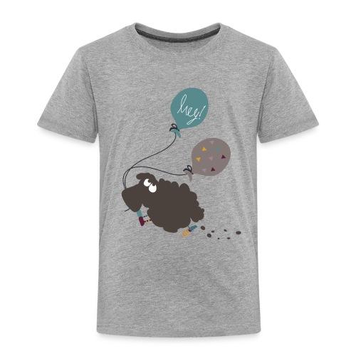 Schaf Elsbeth mit Luftballon - Kinder Premium T-Shirt