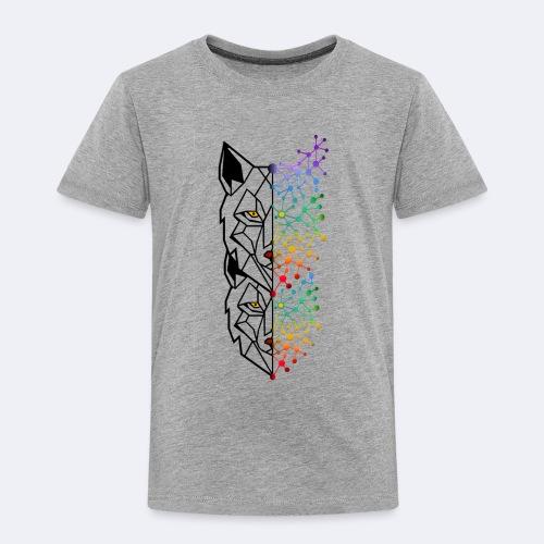 Design Wolf Street Double - T-shirt Premium Enfant