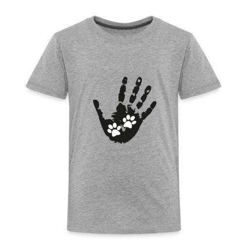 Huellas - Camiseta premium niño