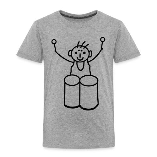 Strichmännchen Congas - Kinder Premium T-Shirt