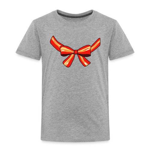 Schleife rot - Kinder Premium T-Shirt