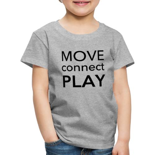 Move Connect Play - AcroYoga International - Kids' Premium T-Shirt