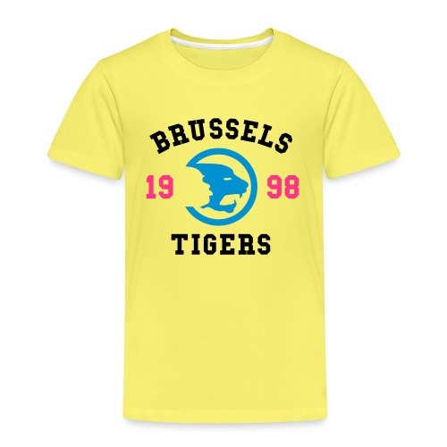 BrusselsTigers 1998BlackC - Kids' Premium T-Shirt