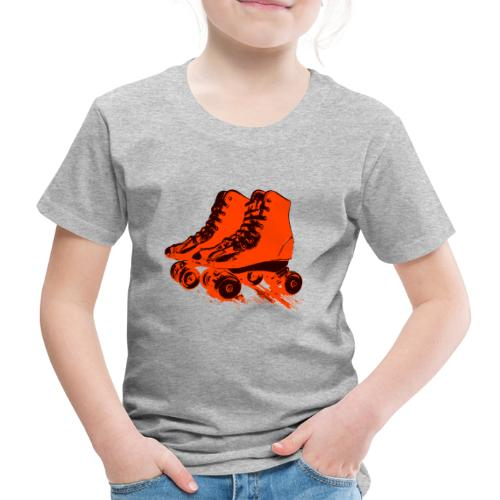 roller skates 78 - Kinder Premium T-Shirt