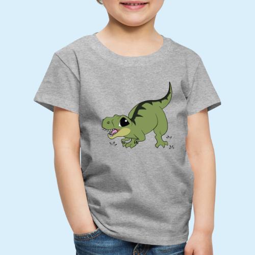 Cartoony TRex - Kinder Premium T-Shirt