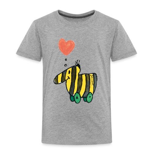 Janoschs Tigerente mit Herz - Kinder Premium T-Shirt