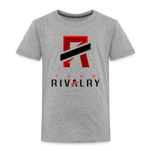 TeamRivalry black bar design - Kinder Premium T-Shirt