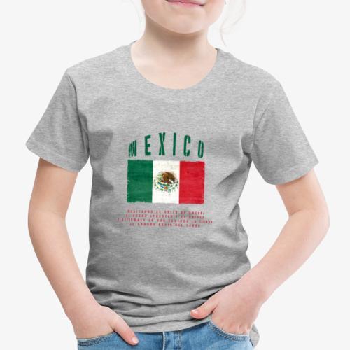 Mexican Flag Bandera Mexico - Kinder Premium T-Shirt
