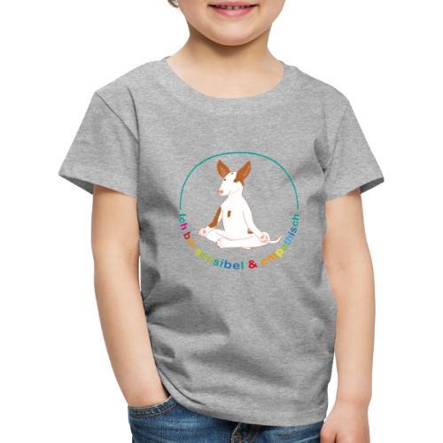 Ich bin sensibel & empathisch (Amigo bunt) - Kinder Premium T-Shirt