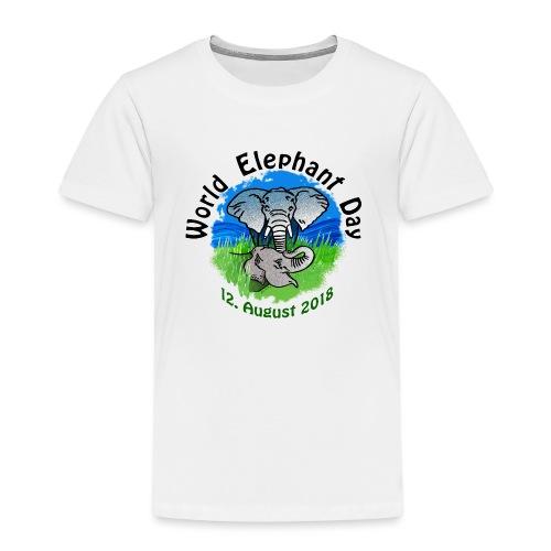 World Elephant Day 2018 - Kinder Premium T-Shirt