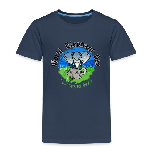 World Elephant Day 2018 - Kinder Premium T-Shirt