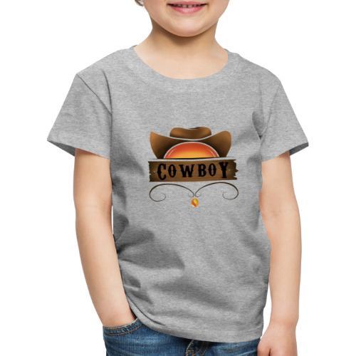 Vaquero - Camiseta premium niño