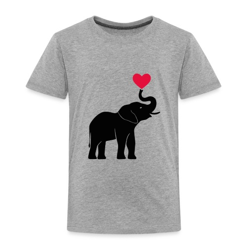 Love Elephants - Kids' Premium T-Shirt