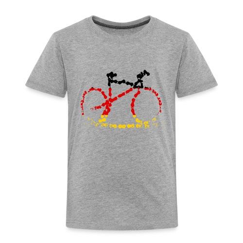 Germany bike chain scale - Kids' Premium T-Shirt