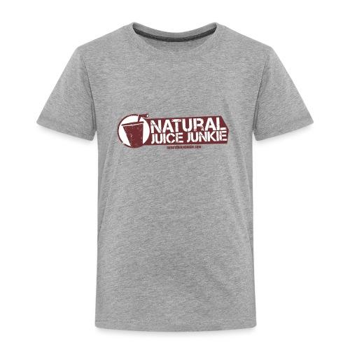 Natural Juice Junkie Logo - Kids' Premium T-Shirt