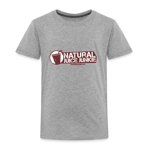 Natural Juice Junkie Logo - Kids' Premium T-Shirt
