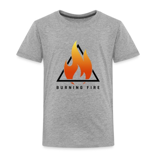 BURNING FIRE Logo - Børne premium T-shirt