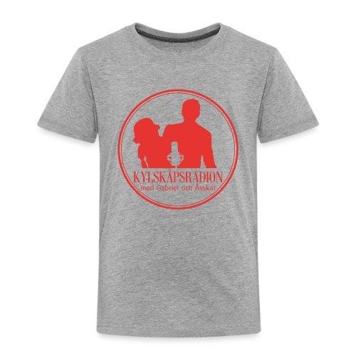 Logga helröd - Premium-T-shirt barn