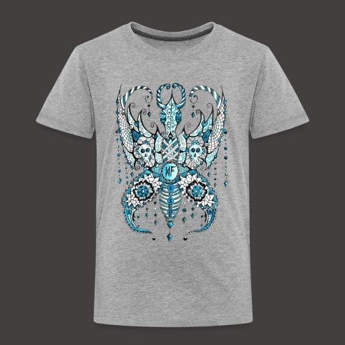 Papillon Lilou Turquoise - T-shirt Premium Enfant