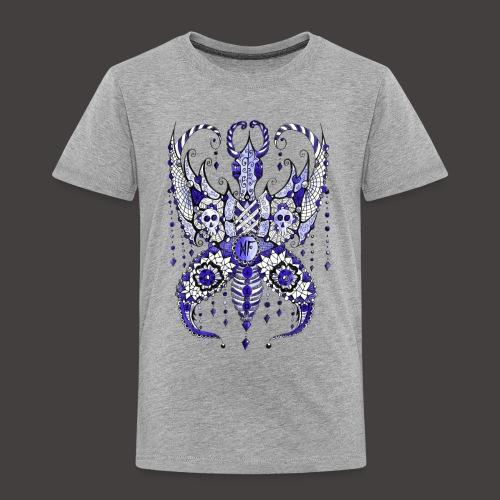 Papillon Lilou Bleu - T-shirt Premium Enfant