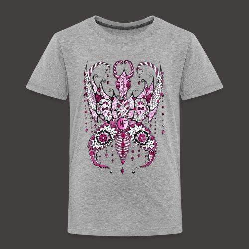 Papillon Lilou Rose - T-shirt Premium Enfant