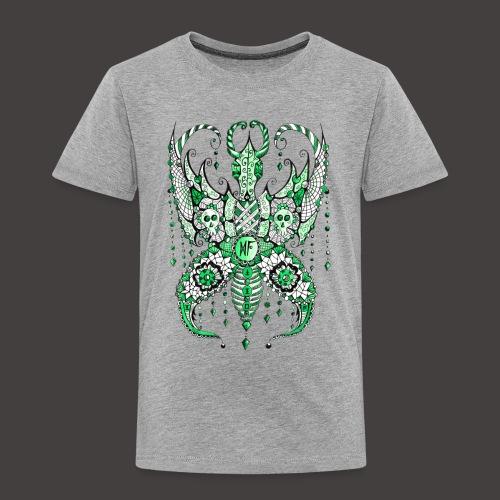 Papillon Lilou Vert - T-shirt Premium Enfant