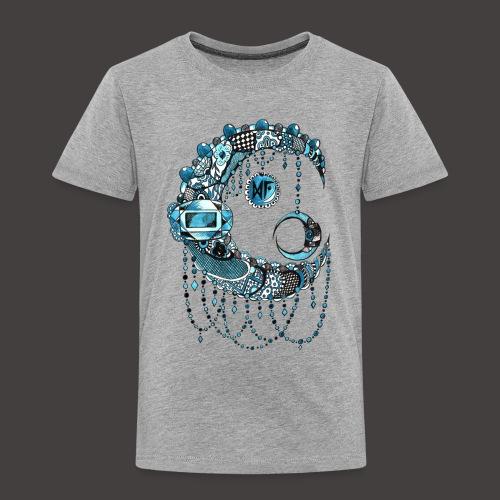 Lune dentelle bleue - T-shirt Premium Enfant