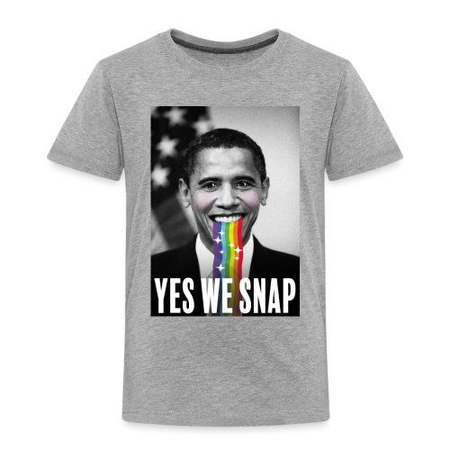 Obama snaps - T-shirt Premium Enfant