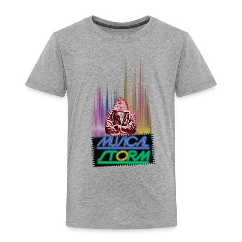 musical storm - Camiseta premium niño
