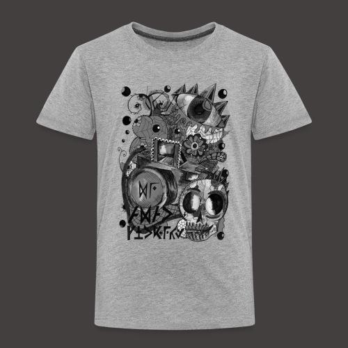 AGAC Picture Noir et Blanc - T-shirt Premium Enfant