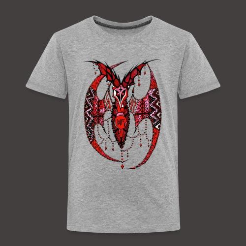 Chauve Souris Dentelle Rouge - T-shirt Premium Enfant